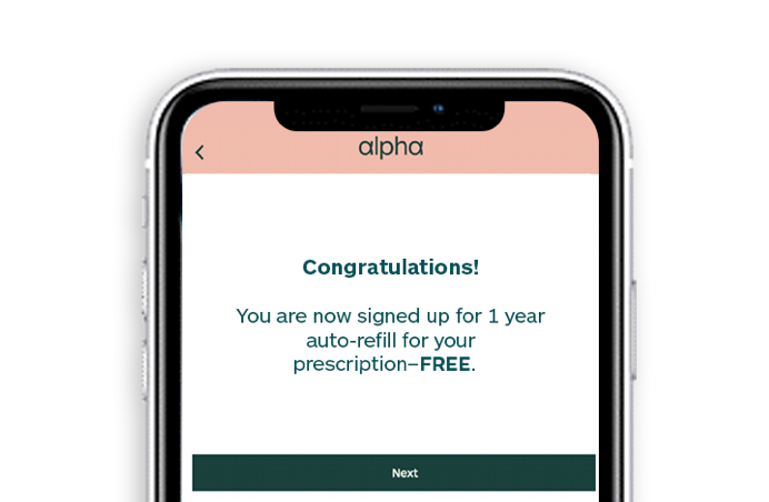 Medications prescribed online